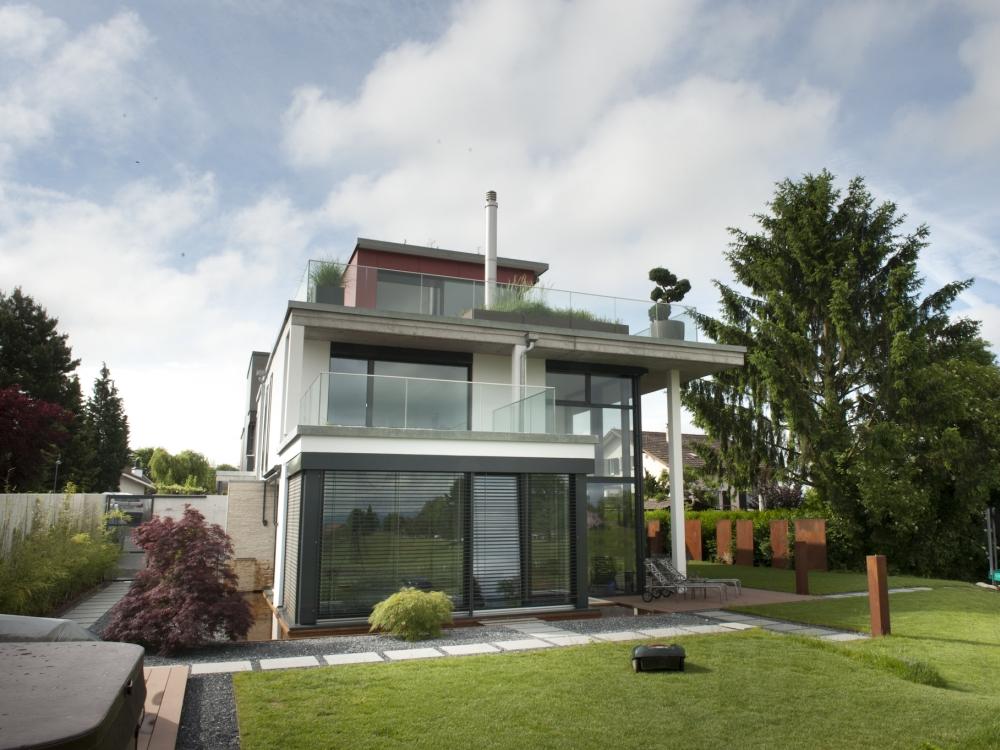 Einfamilienhaus Widen | marti + palanza team ARCHITEKTEN AG